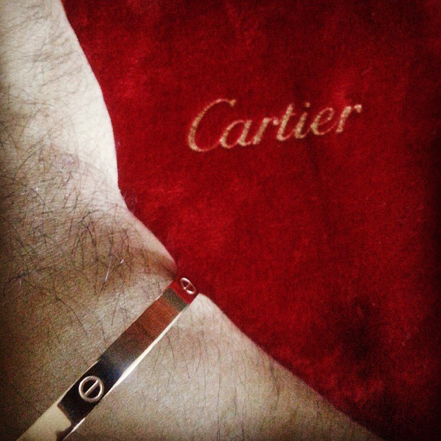 Cartier Love Bracelet 18K rose gold